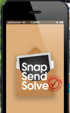 Snap Send Solve - hackathon to start-up success story